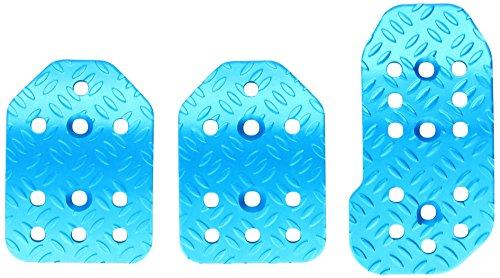 Bottari 13156 Pedales para Coches, Conjunto de 3 Piezas, Color Azul