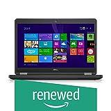(Renewed) Dell Latitude E5450 14-inch Laptop (5th Gen Core i5/8 GB/256 GB SSD/Windows 10/Intel HD Graphics), Black