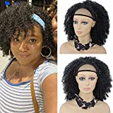 Best African American Wigs - Curly Headband Wig for Black Women Short Kinky Review