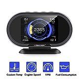 KONNWEI KW206 Car OBD2 HUD Digital Meter RPM Gauge...