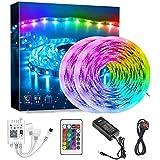 XWX Light Light Light Smart WiFi Aplicación Control RGB Color Cambio De Música Sync Strips Lights Home Kitchen Dormitorio TV Fiesta (Size : 10m)