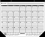 AT-A-GLANCE 2014 Monthly Desk Pad, Black and...