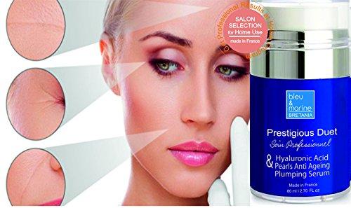 Augenkonturen Hyaluronsäure, Seide Perlen anti-falten serum 80 ml