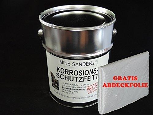 Preisvergleich Produktbild Mike Sanders Korrosionsschutzfett 4 kg plus Abdeckplane GRATIS!!!