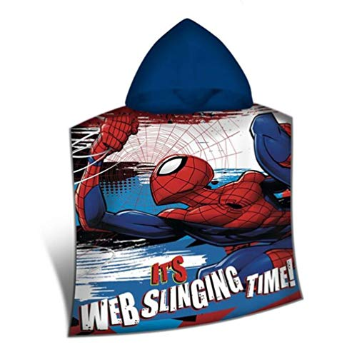 Disney – Spiderman Poncho poliéster, mv15400 m, 100 x