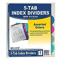 Index Poly Divider 5 Tab