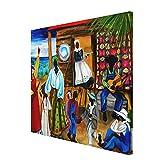 Painting - Gullah Christmas Diane Canvas Wall...