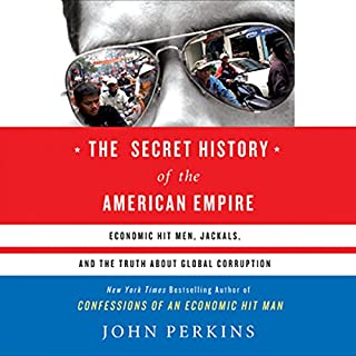 The Secret History of the American Empire audiobook cover art