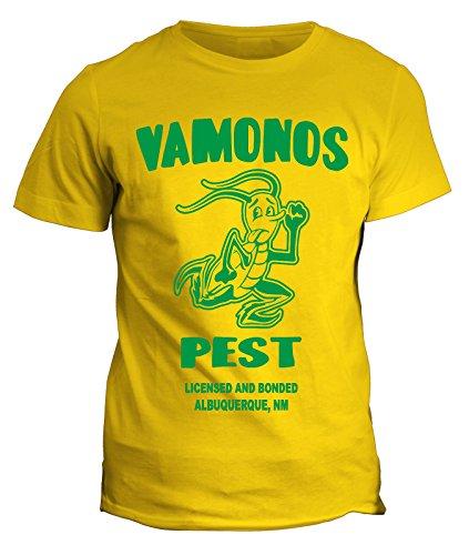 fashwork T-Shirt Vamonos Pest Azienda di disinfestazioni di Walter e Jessie - Meth Heisemberg Maglietta Disponibile Uomo Donna Bimbo