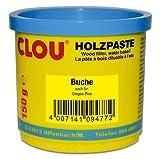 Clou Holzpaste zum Reparieren und Auskitten von Holzschäden buche, 150 g: gebrauchsfertige Paste...