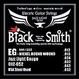 Blacksmith NW12-52 pro Cuerdas Guitarra Eléctrica Jazz Ligero Calibre 12-52