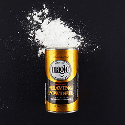 Magic Gold Shaving Powder 4.5 oz. Fragrant