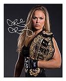Photo Ronda Rousey Autograph Signed 8 x 10