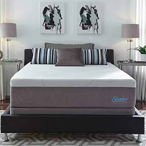 Find Discount Slumber Solutions Choose Your Comfort 14-inch Gel Memory Foam Mattress Set Firm