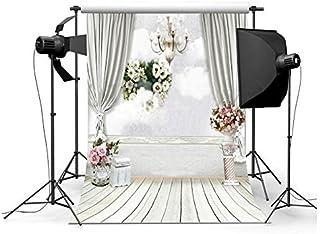 GradeAAAAAビニール布花Bear Ballon子供木製床スタジオ小道具写真写真背景StudioバックドロップBest for Personal写真、壁の装飾、赤ちゃん、子供、Kidsフォト