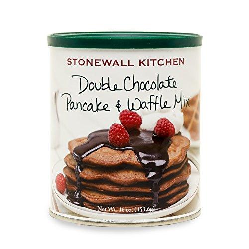 Stonewall Kitchen Double Chocolate Pancake and Waffle Mix, 16 Ounces