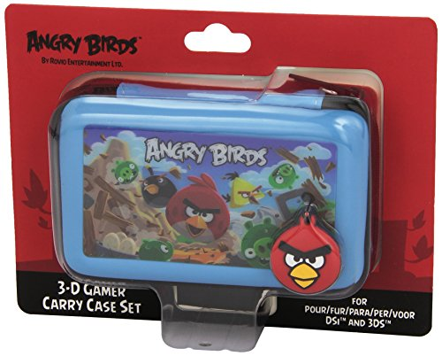IGS - Kit De 4 Accesorios Angry Birds, Color Azul (Nintendo 3Ds)