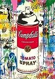 JHGJHK Tap Street Graffiti Art Painting Pintura al óleo Pintura de Arte Abstracto Grabado Decoración de la Pared del hogar 4