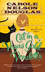 Review of Cat in a Vegas Gold Vendetta: A Midnight Louie Mystery