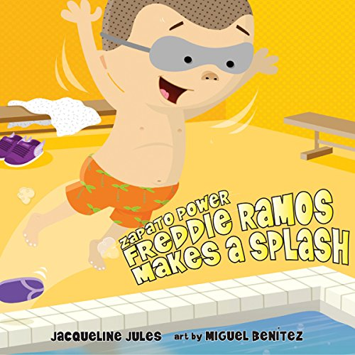 Freddie Ramos Makes a Splash audiobook cover art