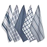 DII Kitchen Dish Towels (Stone Blue, 18x28'), Ultra Absorbent & Fast Drying, Professional Grade...