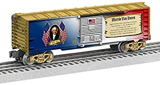 Lionel Presidential Series Martin Van Buren, Electric O Gauge Model Train Cars, Boxcar