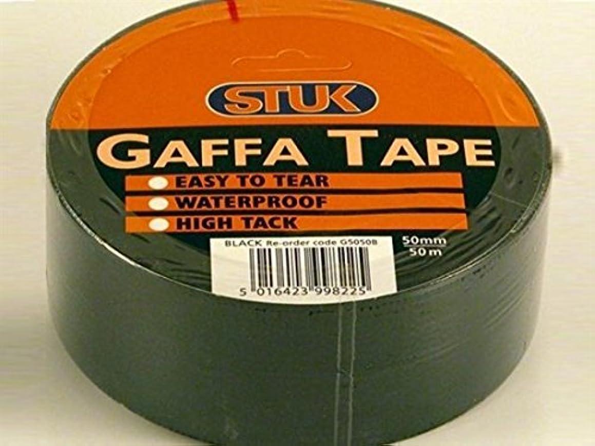 Gaffe Tape Black 48mm x 50m G5050B