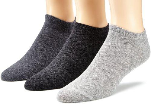 s.Oliver Unisex 3-pack sneakersokken met zachte band dames en heren voetjes
