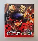 Miraculous Ladybug Mini libro de pegatinas (Lady Bug y gato negro)