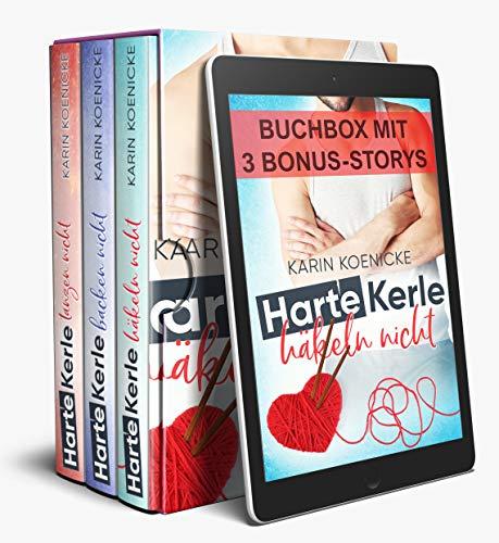 Harte Kerle 1-3 Sammelband PLUS 3 humorvolle Bonus-Storys: (Liebe im Café Woll-Lust...