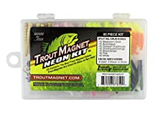TROUT AND OTHER SPECIES: This lure catches anything that swims and will outfish any lure on the stream for trout. FALLS HORIZONTALLY IN THE WATER: The Trout Magnet hook and body falls horizontally in the water instead of head weight like all other ji...