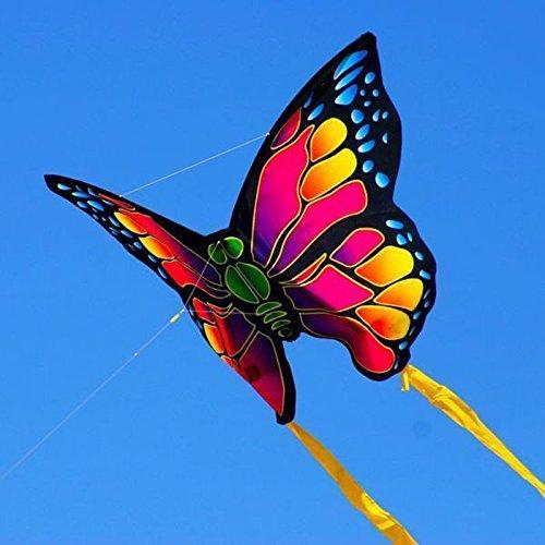 Elliot 2180320 Mini Nylon Kites Einleiner-Drachen - Schmetterling