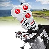 Songway - Juego de 3 fundas para palos de golf, funda para palo de golf, protector de palo...