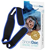 SnoreDoc(TM) Anti Snoring Chin Strap Device - Snoring Solution Sleep Aid that Stops Snoring & Ease Breathing - Effective Snore Relief - Snore Stopper Jaw Support - Natural, Comfortable & Adjustable