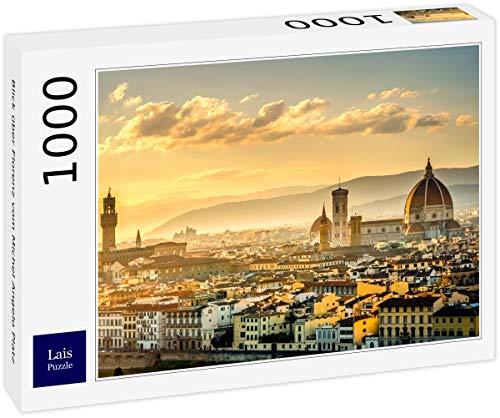 Lais Puzzle Panoramica di Firenze del Michel Angelo posto 1000 pezzi