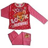 Pijamas de niña de Bambi Love You 9-10 años