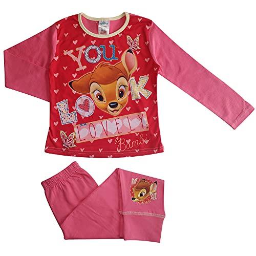 Pijamas de niña de Bambi Love You 7-8...