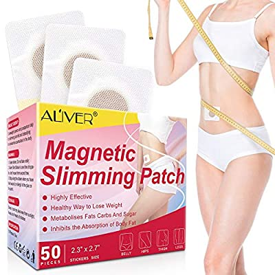 Slimming Patch (50 PCS), Weight Loss Sticker, Fat Burning Abdominal Fat Away Sticker, for Shaping Waist, Abdomen and Buttocks by Nifeishi Eu