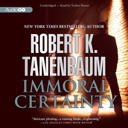 Immoral Certainty audiobook cover art