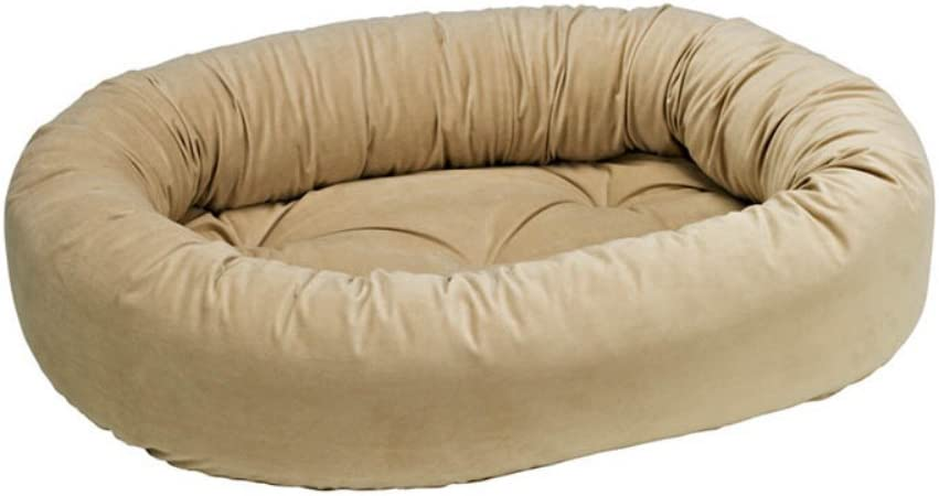 Sacramento Mall Bowsers Donut Bed In a popularity Almond Small
