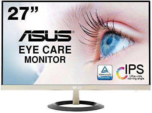ASUS フレームレス モニター VZ279H 27インチ IPS 薄さ7mmのウルトラスリム ブルーライト軽減 フリッカーフ...