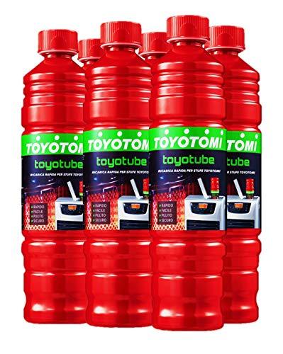 Toyotomi Filter TOYOTUBE No Filtro Ricarica Rapida per stufe a combustibile a Marchio Zibro, Kerosun e Toyoset, Greenlight_8,4, 8,4 litri
