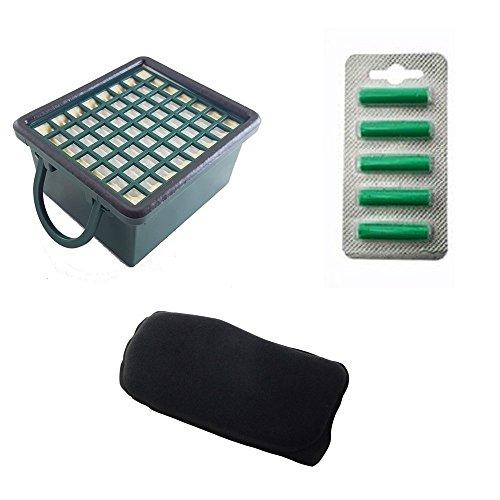 1Filter Düfte + 1EPA-Filter + 5Düfte für VK 130131VORWERK anpassbar