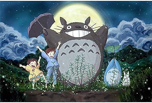 FEI HOME GPT Ghibli Studio Hayao Miyazaki Meisterwerk, Holzpuzzle, TotGold Animation Stills Feinschnitt & Fit 5004000er Boxed Toys Game Art für Erwachsene 19.3.23 (Farbe   D, Größe   5000pc)