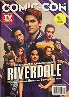 TV GUIDE COMIC-CON MAGAZINE - ISSUE 93 2019 - RIVERDALE