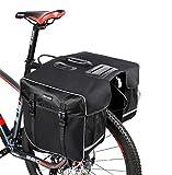 SHINYEVER Borsa Doppia per Bicicletta Posteriore Grande capacità Borsa Bici Doppia Borsa Laterale Bici Impermeabil 30L