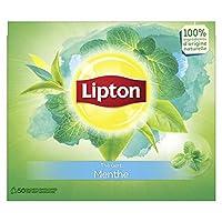 Lipton Thé Vert Menthe 50 Sachets 80 g