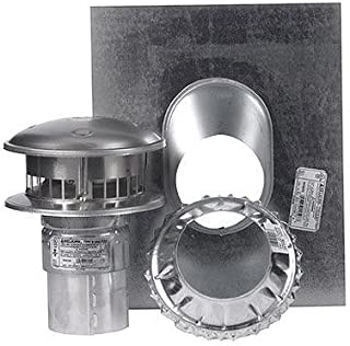 SELKIRK Corp 184600 Gas Termination Kit, 4-Inch