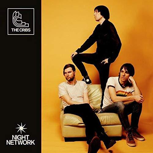 The Cribs Night Network Rock álbum de música popular póster lienzo pintura arte póster impresión hogar pared decoración de la sala de estar -50x75 pulgadas sin marco