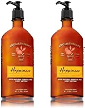 Bath and Body Works Happiness Bergamot and Mandarin Body Lotion 2 Pack